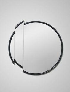 Lee Broom | Split Mirror Round.