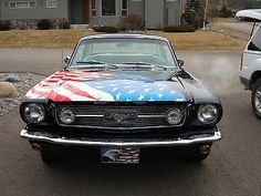 Ford : Mustang Red White and Blue Competely Restored 1966 Ford Mustang 2 dr sedan
