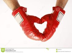 Heart Shaped Red Boxing Gloves - Download From Over 40 Million High Quality Stock Photos, Images, Vectors. Sign up for FREE today. Image: 18069729