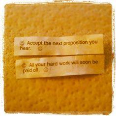 valentine quote cookie