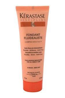 Discipline Fondant Fluidealiste Smooth-in-Motion Care Kerastase oz Fondant, Shampoo, Conditioner, Personal Care, Bottle, Smooth, Self Care, Personal Hygiene, Flask