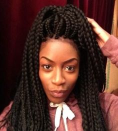 Pix For > Senegalese Twists With Marley Hair