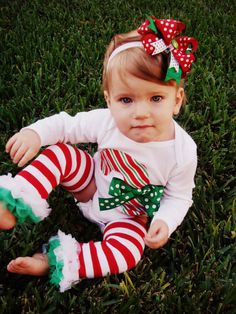Candy Cane Onesie by RKsCloset on Etsy, $18.00