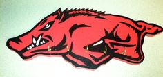 Key hog. Hang all your eyes on this adorable razorback. Price $15. This is hand crafted. Email me at ashkpbl@hotmail.com
