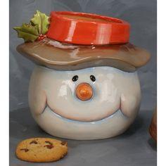 Cookie Jar Jolly Holiday, Cookie Jars, Tis The Season, Seasons, Cookies, Decor, Crack Crackers, Decoration, Seasons Of The Year