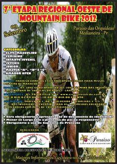 7a Etapa Regional Oeste de Mountain Bike 2012.