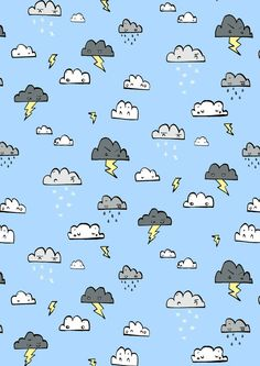found on catchoo cutie pie blog — catchoo & company.  hannah radenkova patter of thundering and raining clouds.
