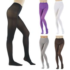 db9140318 Women s Opaque Tights Stretch Pantyhose Warm Hosiery High Support Stockings  USA  fashion  clothing