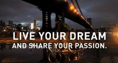 Live Your Dream and Share Your Passion. ¡Buenos días a tod@s! Hemos empezado el año con mucha energía, nuevos retos e ilusiones. Es por esto que queremos compartir con vosotr@s nuestro sueño, nuestra pasión, que es apostar por el trabajo bien hecho, con productos de máxima calidad, con la mejor atención posible al cliente y con el mínimo plazo de entrega de los productos posible. ¿Cuál es la vuestra? :-) #holstee, #live, #dream, #vida, #sueno, #optimismo, #positivismo, #passion, #frases…