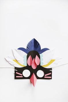 Tata Kids Design - Unconventional design for Kids Kids Crafts, Arts And Crafts, Diy Masque, Grafik Design, Mask For Kids, Masks Kids, Craft Activities, Diy Paper, Vanitas