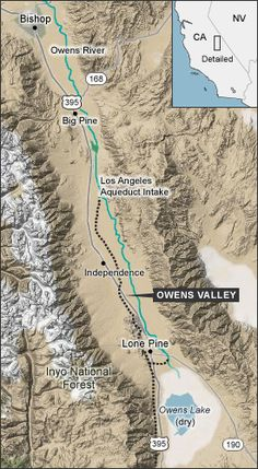 """""""There it is - take it"""". A self-guided car audio tour through Owens Valley, California along U.S. Route 395 examining the ... history of the Los Angeles Aqueduct system"""