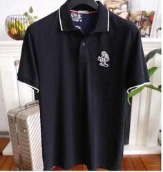 4fdc71dce874 2018SSのMONCLER偽物モンクレールスーパーコピーポロ半袖ビジネス用メンズTシャツが新入荷致します。シンプルなフロントロゴが特徴の半袖Tシャツ です。