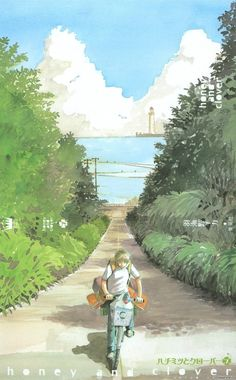 Honey and Clover, Artbook Honey And Clover, Tokyo, Japanese Illustration, Animation, Nihon, Book Art, Comics, Gallery, Anime