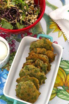 Pataniscas de Feijão Verde - http://gostinhos.com/pataniscas-de-feijao-verde/