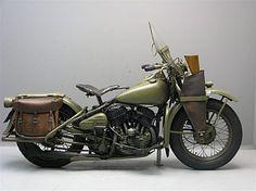 Harley Davidson 1942 WLA 750 cc 2 cyl sv