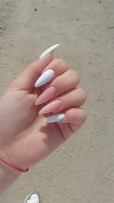 Classy Acrylic Nails, Summer Acrylic Nails, Best Acrylic Nails, Classy Nails, Stylish Nails, Long Square Acrylic Nails, Trendy Nails, Perfect Nails, Gorgeous Nails