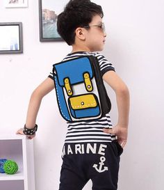 Kid Size Bold 2D Backpack