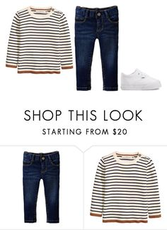 """""""Baby outfit"""" by minimalsimplicity ❤ liked on Polyvore featuring Old Navy, H&M and Vans"""