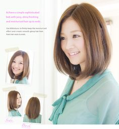 LUCIDO-L : HAIR DESIGN LIBRARY -- natural bob