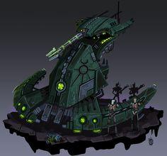 Star Wars Cartoon, Star Wars Jokes, Star Wars Facts, Warhammer 40k Necrons, Warhammer Fantasy, Star Wars Vehicles, Armored Vehicles, Star Wars Spaceships, Star Wars Concept Art