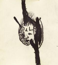 David Lynch, self-portrait