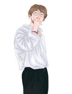 both fluff and smut fanarts. Not my fanarts! Bts Taehyung, Taehyung Fanart, Kpop Fanart, V Chibi, Bts Kim, V Bts Wallpaper, Anime Lindo, Kpop Drawings, Fan Art