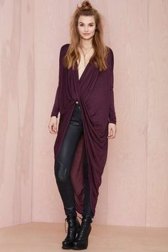 Drama Queen Top - Plum - What's New