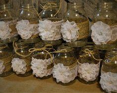19 Mason Jar Centerpiece Ideas for Weddings   Mason Jar Wedding ...