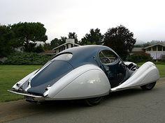 TALBOT LAGO T150C SS FIGONI & FALASCHI TEARDROP COUPE 1937