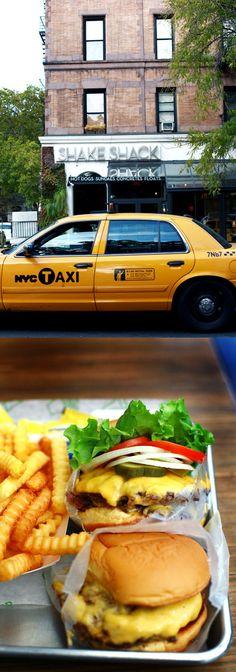 shake shack NYC. double patty cheeseburger extra mayo get in me now. >>>> hahahaha!