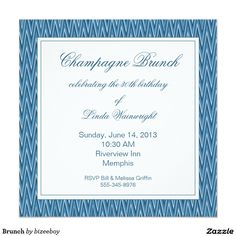 Find customizable Brunch invitations & announcements of all sizes. Pick your favorite invitation design from our amazing selection. Melissa Griffin, Brunch Invitations, Invitation Design, Rsvp, Announcement, Champagne, Celebrities, Celebs, Celebrity