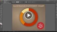 How To Make a Donut/Doughnut Chart in Illustrator Keeping Data Live  http://videotutorials411.com/how-to-make-a-donut-doughnut-chart-in-illustrator-keeping-data-live/  #Photoshop #adobe #lightroom #graphicdesign #photography
