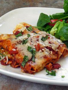 Life Tastes Good: Easy Cheesy Manicotti @Renee Schiro Kitchen Adventures #italian #pasta #manicotti #cheese