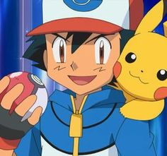 Ash (ash is 10 but everyone else is either too old or too young >.<)