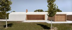 Located in Fontanars dels Alforins, Valencia, Spain, Cottage in the Vineyard is a retreat designed by Ramón Esteve Estudio in Contemporary Barn, Contemporary Architecture, Cottage Design, House Design, Timber Planks, One Storey House, Architecture Résidentielle, Rural House, Modern Cottage