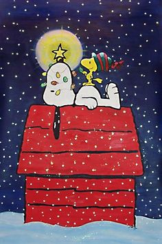 Snoopy and Woodstock ChristmasL