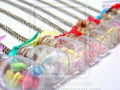 Sweets in a jar by tenczerszofi on DeviantArt Polymer Clay, Jar, Sweets, Deviantart, Jewelry, Sweet Pastries, Jewellery Making, Jewerly, Goodies