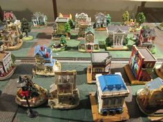 Liberty Falls village...my mother has this, only missing a few pieces...  I'll inherit it, eventually