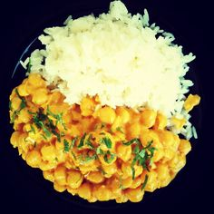 Garbanzos cremosos Risotto, Vegan, Ethnic Recipes, Vegetarian, Chickpeas, Garlic, Onion, Cuisine