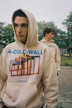 British street inspired clothing brand A-COLD-WALL presents their editorial, directed by Amsterdam based agency EHEBLY. Streetwear Brands, Streetwear Fashion, A Cold Wall, Young T, Fall Lookbook, Chor, Trap, Clothes Horse, Urban Fashion