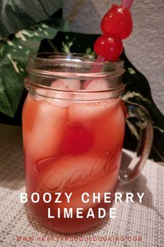 This fun adult drink is a perfect copycat of Sonic's famous cherry limeade. Well, that is if you added vodka to it. It's so easy to make and even easier to drink. Alcoholic Punch Recipes, Alcohol Drink Recipes, Cocktails, Peach Drinks, Alcoholic Shots, Alcoholic Desserts, Vodka Recipes, Cherry Limeade Recipe, Slushies