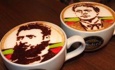 Барман от Варна рисува Левски и Ботев върху кафе (ВИДЕО)