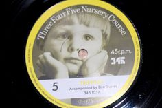 45 r.p.m  Number 5 Tripping & Two Long Songs Three Four Five Nursery Course Record series