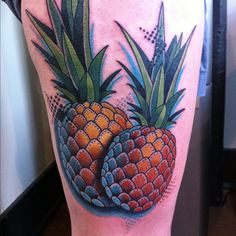 pineapple tattoo - Buscar con Google
