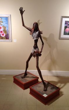 Bronze female figure 800