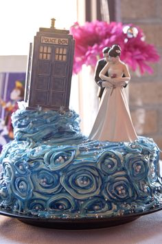 Doctor Who inspired wedding reception.
