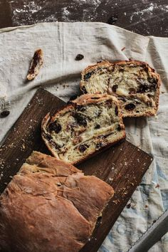 Healthy Cinnamon Raisin Swirl Bread Breakfast Recipe