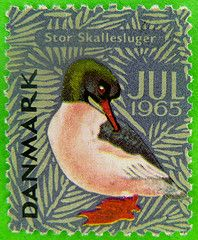 denmark, stamps for x mas