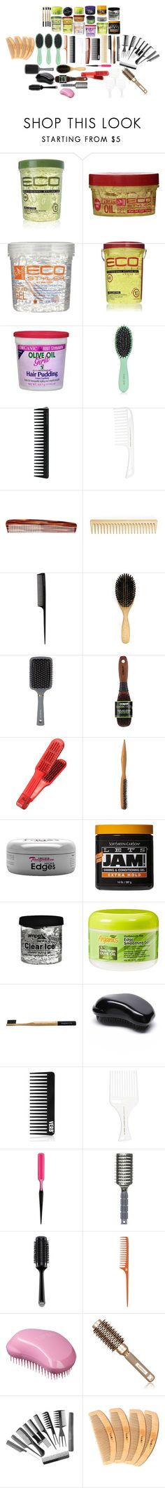 """""""hair"""" by cuteoutfits4you on Polyvore featuring Eco Style, Organic Root Stimulator, Harry Josh Pro Tools, GHD, Mason Pearson, AERIN, Orlando Pita, Conair, WithChic and Tangle Teezer"""