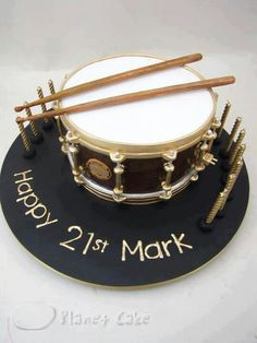Design could be made into a Drum hat with the drum sticks.